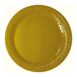 Тарелки Золото 8шт/уп