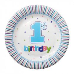 Тарелки 1-st Birthday...