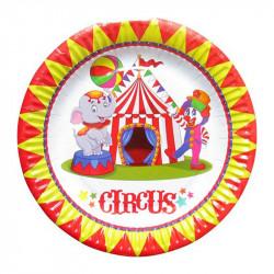 Тарілки Цирк 8шт/уп