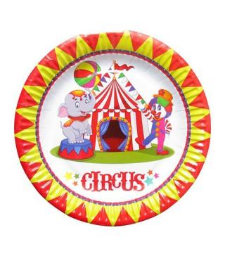 Тарелки Цирк 8шт/уп