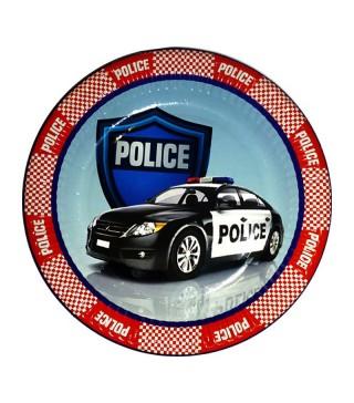 Тарілки Поліція 8шт/уп