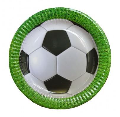 Тарелки Футбол 8шт/уп