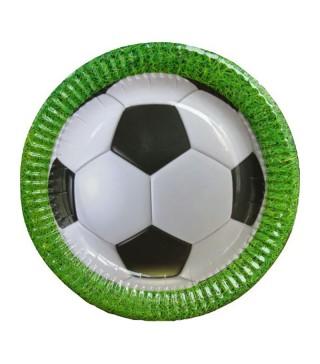Тарілки Футбол 8шт/уп