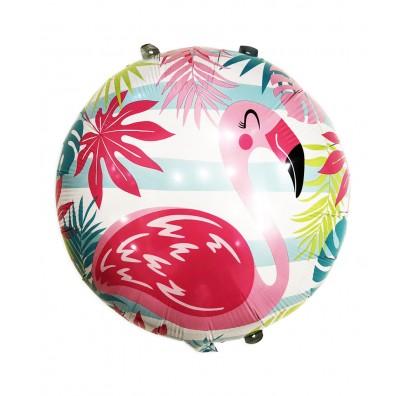 """Кульки фольг з малюнк. Круг """"Фламінго"""" фольга 21551 Китай"""