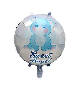 "Кульки фольг з малюнк. Круг ""Милий ангел голубий"" фольга 21553 Китай"