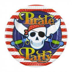 Тарілки Pirate 8шт/уп