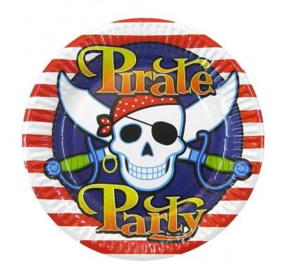 Тарелки Pirate 8шт/уп