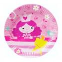 Тарелки Маленькая принцесса 6шт/уп