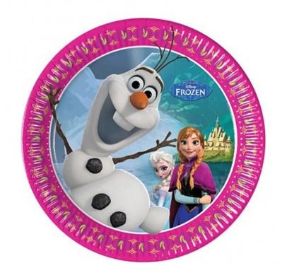 Тарелки Frozen 8шт/уп