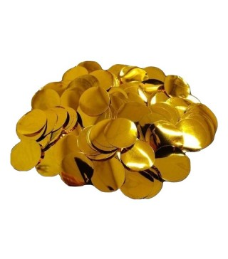 Конфеті кружечки 23мм (жовті 25 гр. 02132 Iмпреза