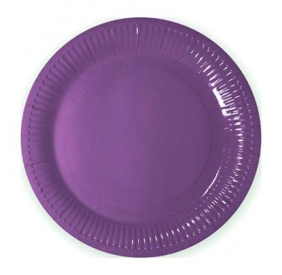 Тарелки Фиолетовые 8шт/уп