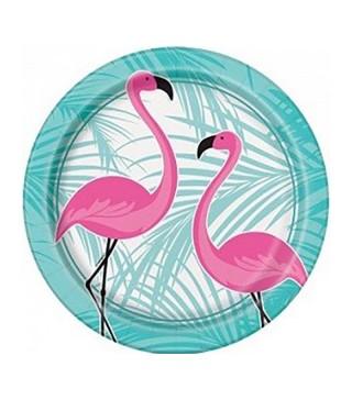 Тарелки Фламинго 8 шт/уп