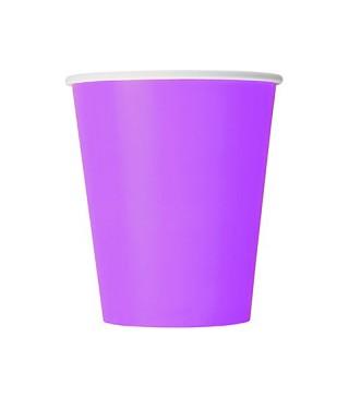 Стаканчики Фиолетовые 8шт/уп