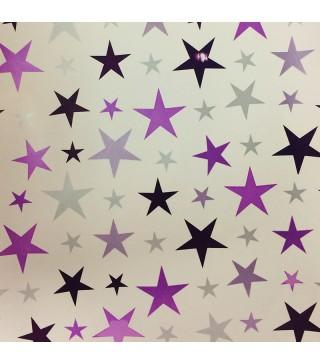 Пакувальна упаковка Папір подарунковий Зірочки 70см (за метр) папір 7013 Україна