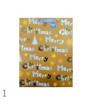 Подарунковийі пакет M Christmas 39*30*12см папір 11556 Китай