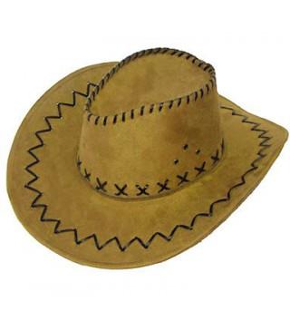 Шляпа Ковбойская бежевая