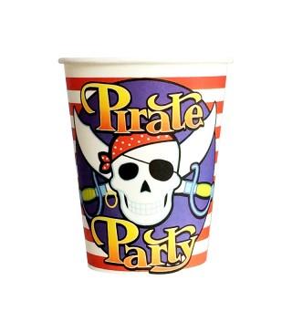Стаканчики пірат 8шт/уп