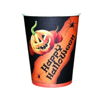 Стаканчики Happy Halloween 6шт/уп