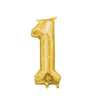 Кулька Цифра 1 золота