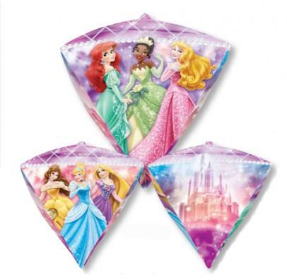 Шарик фольгированный Princess треугольник