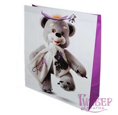 Подарочный пакет Медвежонок