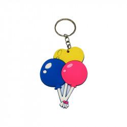 Брелок кульки пласмаса,метал 0554 Китай