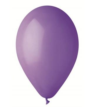 """Шарики фиолетовые 10 """" (25см) пастель 1шт"""