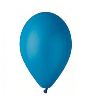 """Шарики Синие 10""""(26см) пастель 100 шт/уп"""