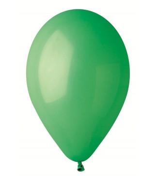"""Кульки зелені 10"""" (26см) пастель 100 шт/уп"""