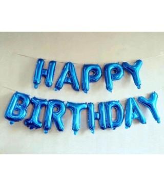 Кульки-літери Happy Birthday асорті
