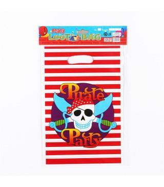 Подарунковий пакет Пірати 10шт/уп Китай