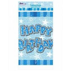 "Скатертина "" Happy birthday"" син. Поліетилен 412270 Китай"