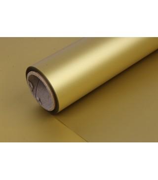 Пакувальна упаковка Папір подарунковий золотий 0,7м 2м рулон папір 00284 Польща