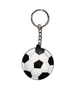 Брелок Футбольний мяч пласмаса,метал 0551 Китай
