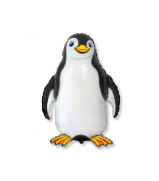 Кульки міні Пінгвін щасливий фольга 902745 FlexMetal