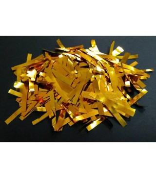 Конфеті смужки золоте