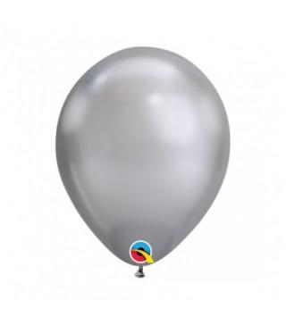 """Кульки хром """"13"""" (Хром)срібло 50шт/уп 12890 Qualatex"""