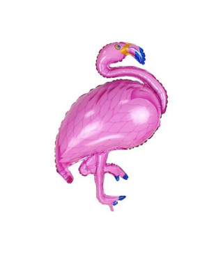 Шарик фольгированный мини Фламинго