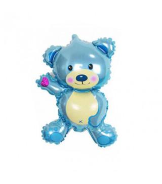 Кульки міні Ведмедик син. 595914 FlexMetal