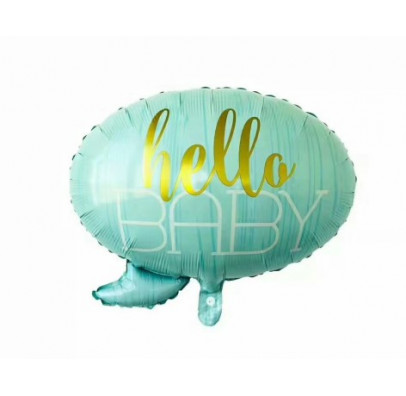 Кульки фігур. hello BABY гол.. (4г) 21581 Китай