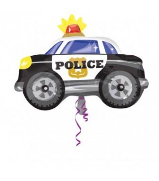 Кулька фольгована фігурна Поліцейська машина