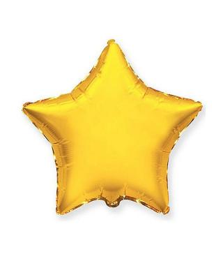 Кульки фольг.б/м Зірка сатин золота(3г) 55003 Китай