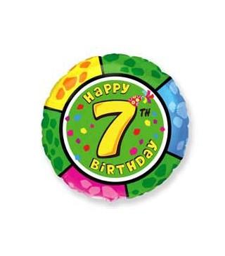Кулька кругла Цифра 7