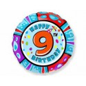 Шарик круглый Цифра 9