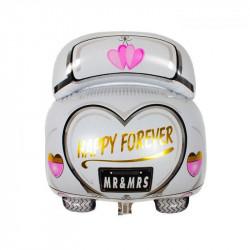 Кульки фігур. Машина  на Дівішнік(6г) 95*40см фольга 21597 Китай