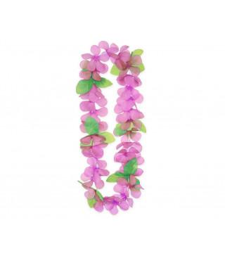 """Леї гавайські весняні """"Рожеві"""" пластмаса, тканина 11639 Godan"""