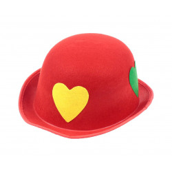 Капелюхи,шапки Червоний в серця 11593 Польща