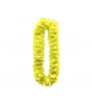 """Леї гавайські неонові """"жовтий"""" пластмаса, тканина 11633 Godan"""