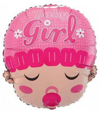Кульки фігур. Голова дівчинки (2,5г) 215070 Китай