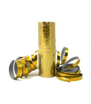 Серпантин голографічний золотий 1шт